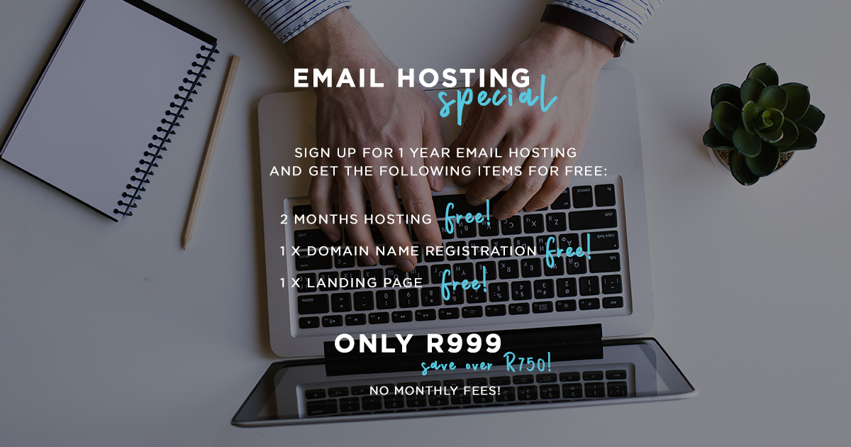 Email hosting Specials - CRT Group